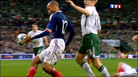 handball, World Cup play-off, Ireland, France